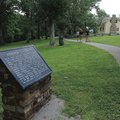 Visitors taking the one-mile walking tour at Prairie Grove Battlefield State Park learn about the Ci...