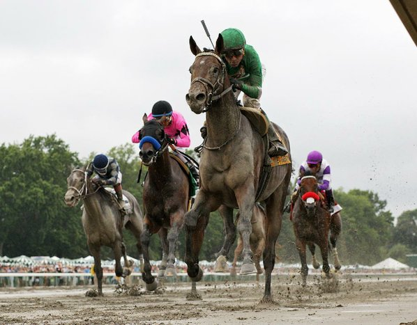 Exaggerator tops Derby winner Nyquist in Haskell