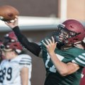 Layne Hutchins, Springdale quarterback, throws during practice Monday, Aug. 8, 2016 at Jarrell Willi...