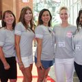Amy Smith (from left), Jackie Segrest, Janelle Lunney, Jennifer Anderson, Karyn Smith and Angela Fra...