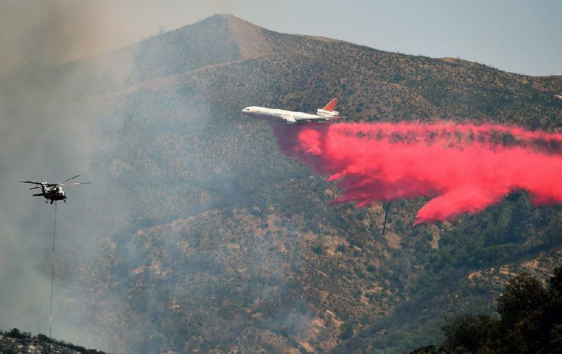 California fire claims over 100 homes