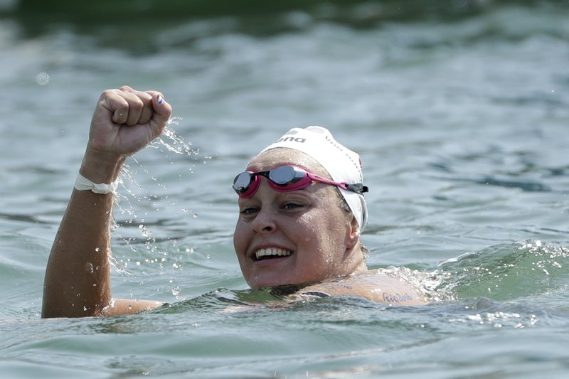 Dirty water no problem for Dutch gold medalist