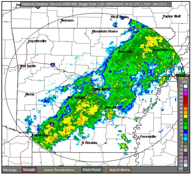 Weather Radar >> This National Weather Service radar image shows rainy ...