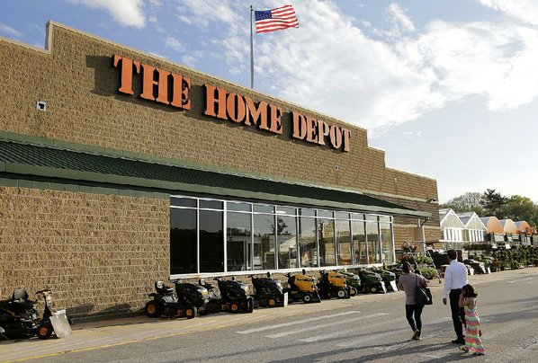 sales hit a record at home depot nwadg