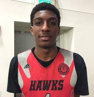 Junior forward Reggie Perry