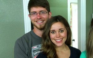 "This image released by TLC shows, Ben Seewald, left, and Jessa Seewald, stars of the reality series, ""Jill & Jessa Counting On."""