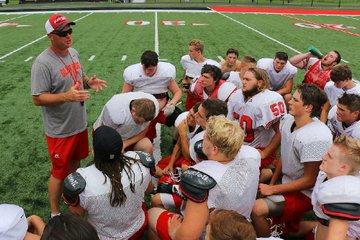 Coach Mark Kehner ...