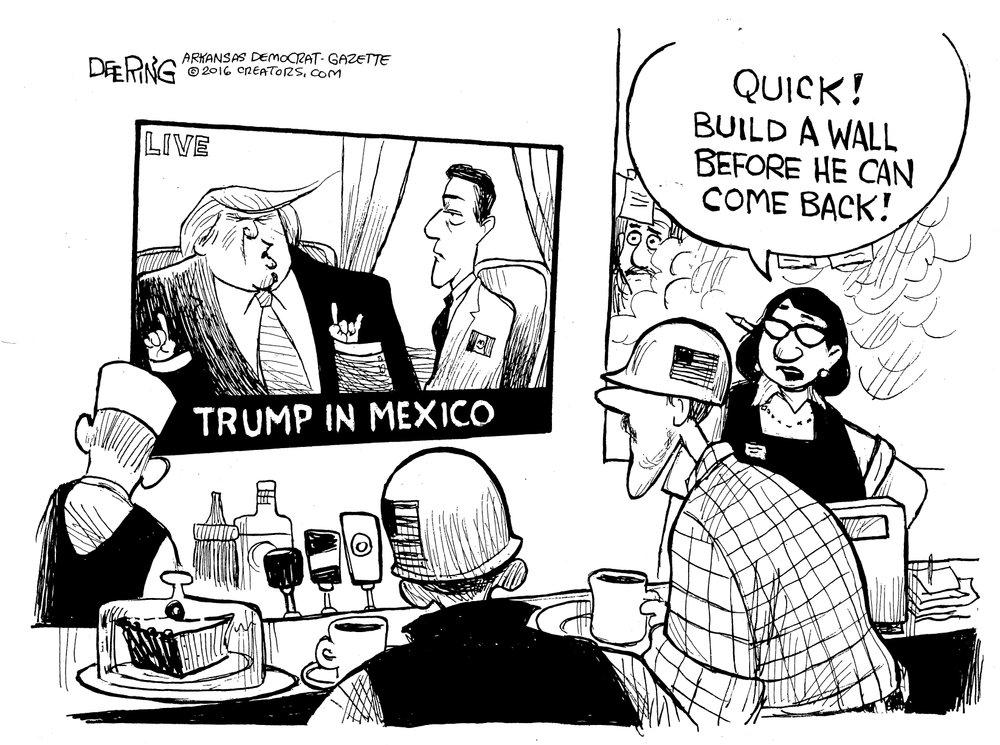 Editorial Cartoons September 2016