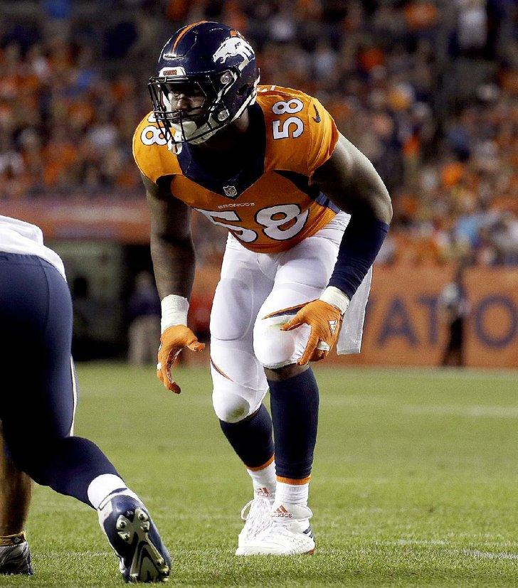 Denver Broncos Outside Linebacker Von Miller Who Earned Super Bowl
