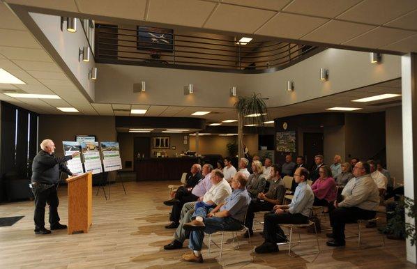 mayors meet hyderabad airport