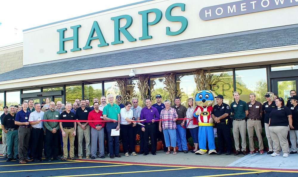 Harps store now open in Gentry