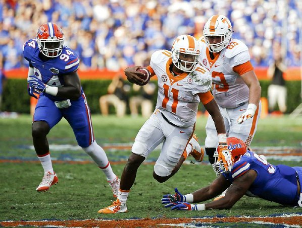 Quick slant: Tennessee Volunteers rally late over Florida