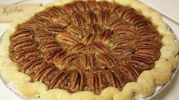 Honey-Crunch Pecan Pie