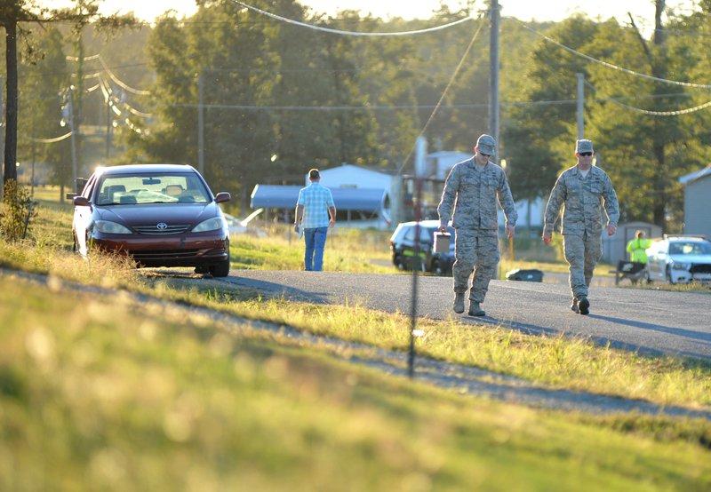 Inert hand grenades force two evacuations