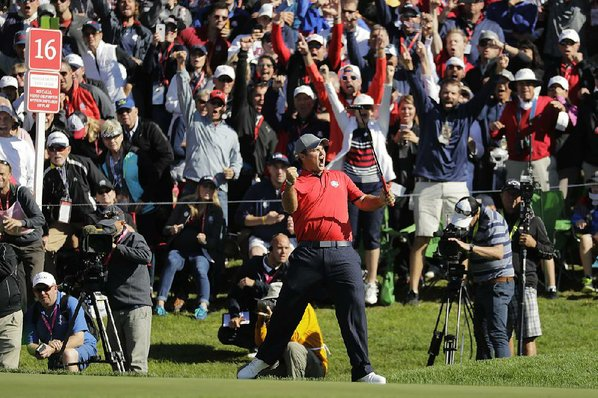 Ryder Cup Heckler Challenged To Putt By Golfer