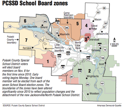 14 Vie For Revived County District School Board