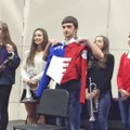 Megan Tidwell (from left), Devon Fuentes, Cameron Manning, Sarah Watt and Madalyn Manning are among ...