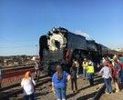 Union Pacific No. 844 steam locomotive in North Little Rock