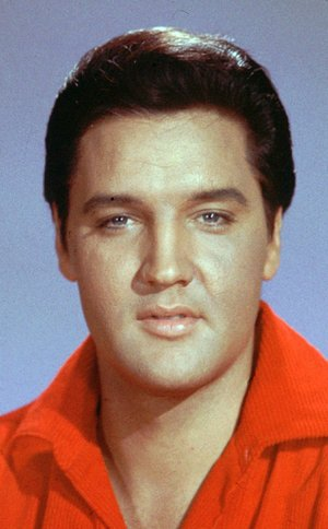 Elvis Presley is shown in this undated file photo.