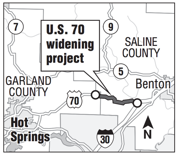 State sets plans for easing traffic in Hot Springs area