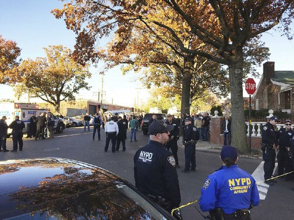 NYPD sergeant killed, 1 hurt in Bronx shootout; suspect dead