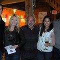 Nate Stevens (from left), Nichole Simpson-Stevens, Rick Sorrell, Lindsey Gobus and Brian Williams en...