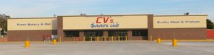 Photo by Susan Holland The new CV's $avers Club, located on the corner at the intersections of Highway 72 and Highway 59 in Gravette, is scheduled to open Thursday, Nov. 10. The store will open its doors at 7 a.m. and a ribbon cutting will be held at 9 a.m. David Donell, a Gravette native, is local manager of the new full-service grocery.