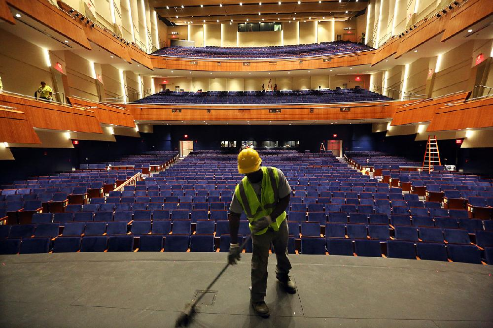 Curtain Lifts On 70m Robinson Center Revamp Nwadg