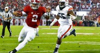 Alabama quarterback Jalen ...