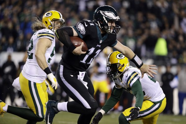 Green Bay Packers Defeat Philadelphia Eagles 27-13