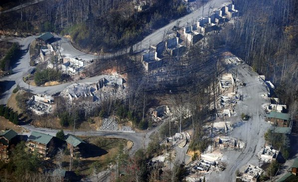 Death Toll at 7 in Tennessee Wildfires