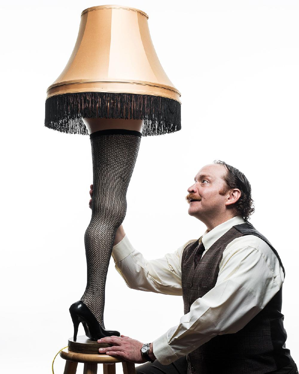 Lamp A Christmas Story