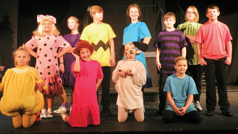 A Royal Christmas Cast.Young Players To Present A Charlie Brown Christmas