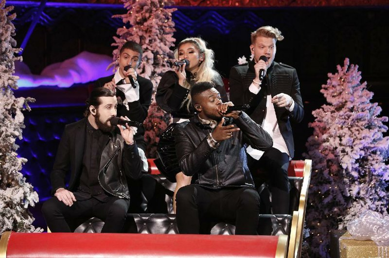 Pentatonix special to make joyful a cappella noise