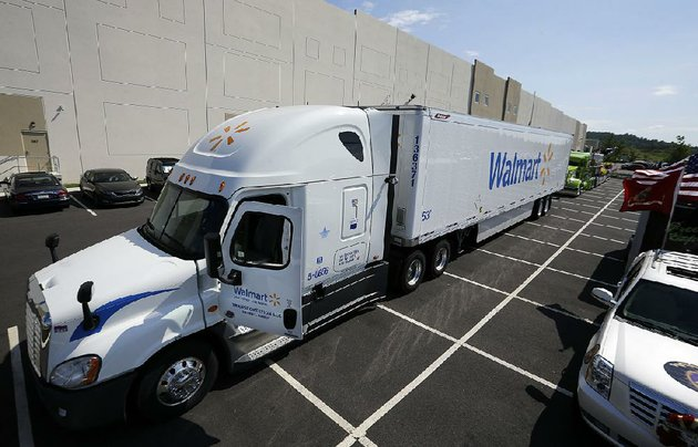 a-wal-mart-truck-is-parked-in-front-of-a-distribution-center-last-year-in-bethlehem-pa-wal-mart-is-testing-the-use-of-cameras-inside-some-of-its-commercial-vehicles