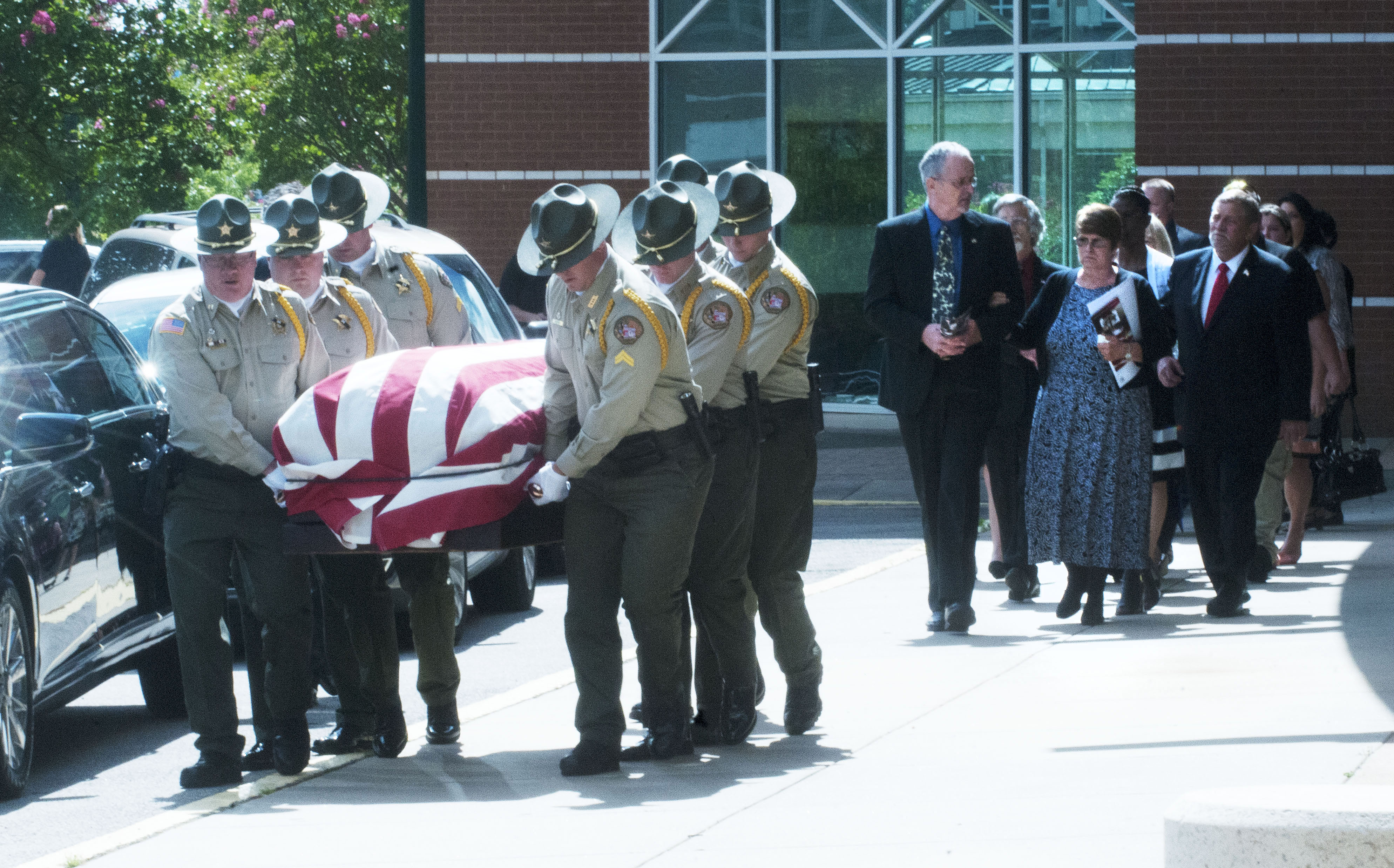 Pallbearers From The Honor Guard Of The Sebastian County