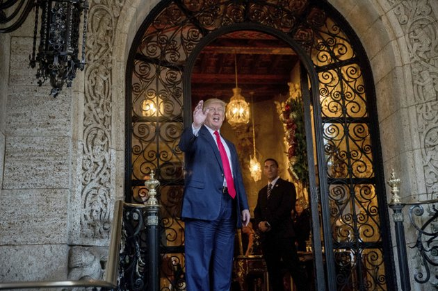 president-elect-donald-trump-waves-to-members-of-the-media-after-a-meeting-with-admirals-and-generals-from-the-pentagon-at-mar-a-lago-in-palm-beach-fla-wednesday-dec-21-2016