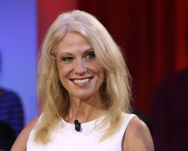 in-this-dec-1-2016-photo-kellyanne-conway-trump-pence-campaign-manager-is-shown-prior-to-a-forum-at-harvard-universitys-kennedy-school-of-government-in-cambridge-mass-conway-is-headed-to-the-white-house-where-shell-serve-as-counselor-to-the-president-the-announcement-was-made-by-the-president-elects-transition-team-early-thursday