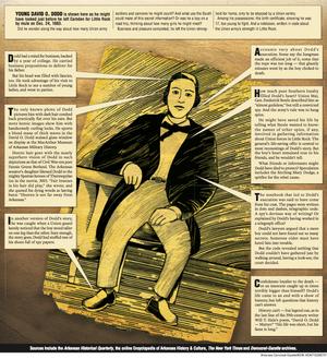Arkansas Democrat-Gazette David O. Dodd Illustration