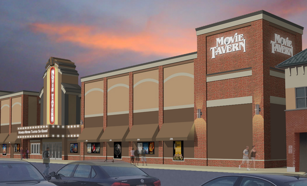 98m permit issued for dinein movie theater in little rock