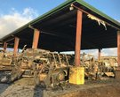 Fire at Arkansas transit center destroys 20 buses