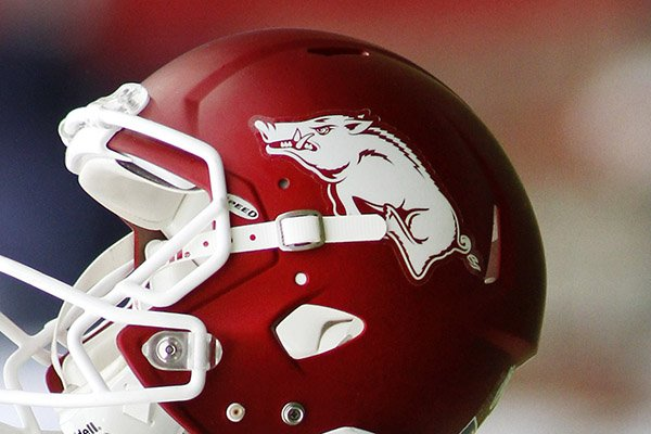 an-arkansas-helmet-is-shown-before-an-ncaa-college-football-game-against-auburn-saturday-oct-24-2015-in-fayetteville-ark-ap-photosamantha-baker