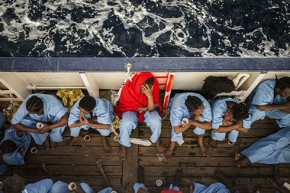 Pope demands protection for young refugees as grim sea search continues