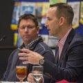 Scott Sharp, the Kansas City Royals' assistant general manager of Baseball Operations, talks Monday ...