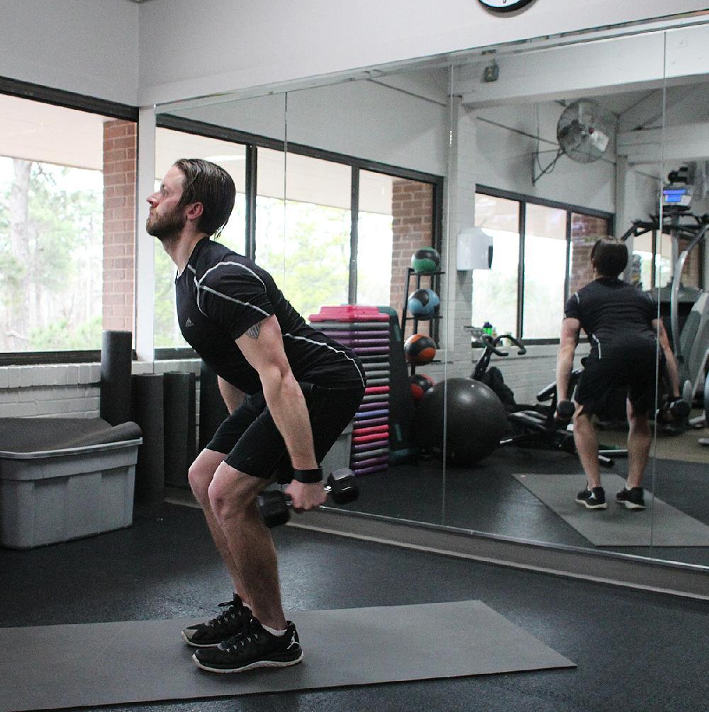 Josh Holt, fitness director at Little Rock Racquet Club ...