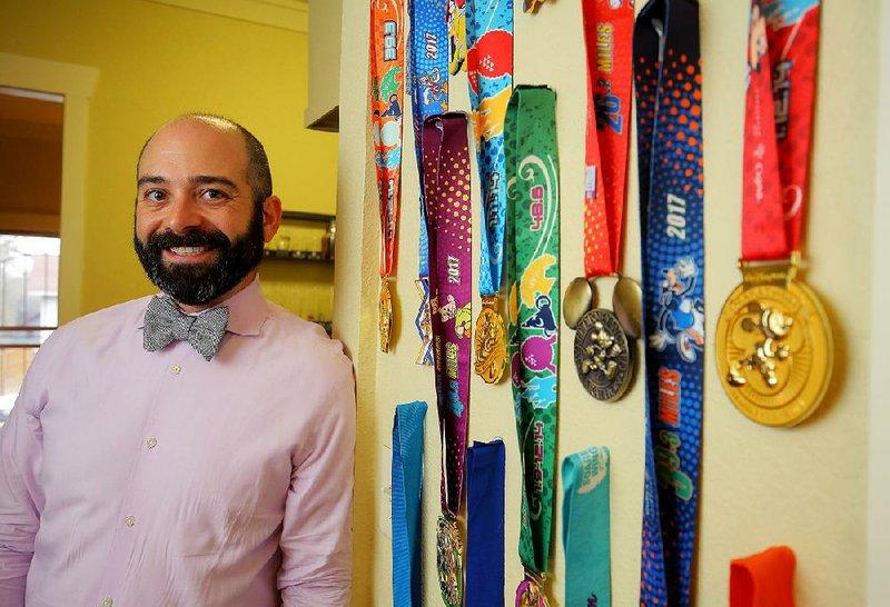 David Gerstein Recently Completed His Second Dopey Challenge A 5K 10K Half Marathon And Full Over Four Days At Walt Disney World