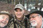 College roommates Leo Crafton, Clay Henry and Hal Hunnicutt reunite each year for a duck hunt.