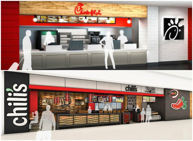 renderings-of-the-proposed-chick-fil-a-and-chilis-locations-inside-bill-and-hillary-clinton-national-airportadams-field-in-little-rock