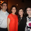 James and Angie Graves (from left), Lori Fink and Meredith Lowry enjoy Ooh! la, la! on Feb. 9 at th...