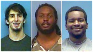3 Arkansas men arrested after shooting in shopping center parking lot seriously injured 1
